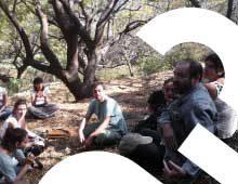 School Under a Tree in Mexico